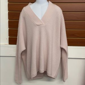 The White Company Pale Pink Sweater